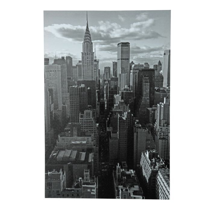 cadre toile new york achat vente tableau toile cdiscount. Black Bedroom Furniture Sets. Home Design Ideas