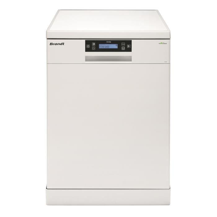 LAVE-VAISSELLE BRANDT DFH14104W - Lave-vaisselle posable - 14 cou