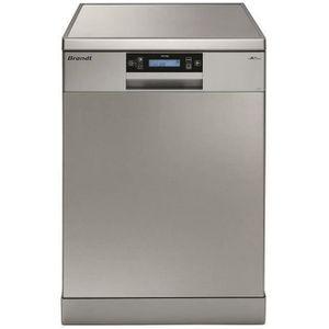 LAVE-VAISSELLE BRANDT DFH14104X - Lave-vaisselle posable - 14 cou