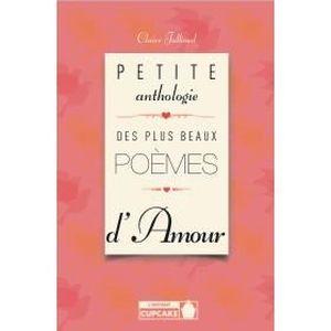 Petite Anthologie Plus Beaux Poèmes Damour Achat Vente