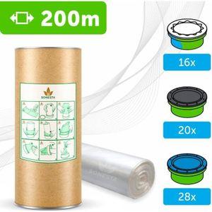 RECHARGE POUBELLE 200 M. - ECO Recharge de poubelle à couches Compat