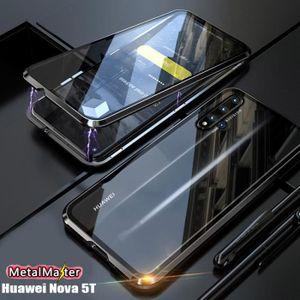 COQUE - BUMPER Coque Huawei Nova 5T,Métal Bumper,Cadre en métal m
