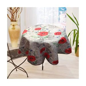 nappe coquelicot achat vente nappe coquelicot pas cher cdiscount. Black Bedroom Furniture Sets. Home Design Ideas
