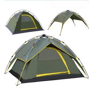 TENTE DE CAMPING Tente Camping Familiale Pliante étanche Automatiqu