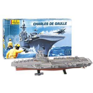 MAQUETTE DE BATEAU HELLER JOUSTRA Charles De Gaulle
