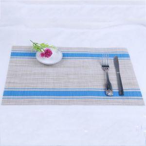 24 Mois de Garantie! HelpCuisine Set de Table//Napperon Placemat PVC Lot de 4pcs, Bleu Lot de 4 napperons Elegants pour la Table Salle /à Manger de qualit/é sup/érieure