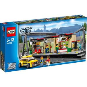 ASSEMBLAGE CONSTRUCTION LEGO® City 60050 La Gare