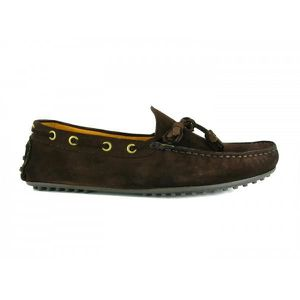MOCASSIN Mocassin Pierre Cardin Cuir Marron PC1605BE - Coul