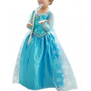 ROBE Costume de Reine des Neiges Filles - Robe de Soiré
