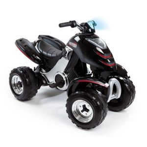 QUAD - KART - BUGGY SMOBY Quad Electrique Enfant X Power Carbone