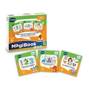 LIVRE INTERACTIF ENFANT VTECH - MAGIBOOK - Mes apprentissages Niveau Mater