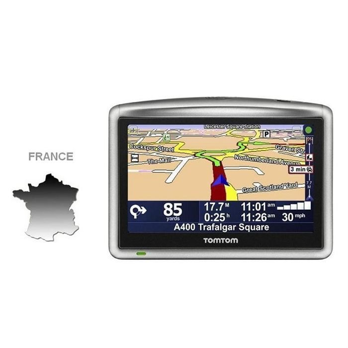 tomtom one xl france achat vente gps auto tomtom one. Black Bedroom Furniture Sets. Home Design Ideas