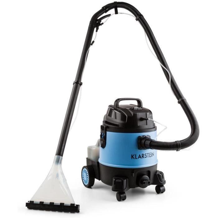 KLARSTEIN Reinraum 2G Dark Blue - Aspirateur Eau/poussière, Aspirateur, Réservoir Stable de 20L, Puissance d'aspiration de 1250L, Ar