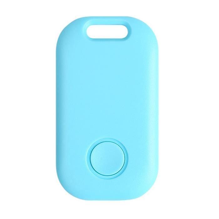 Accessoire GPS,Nouveau localisateur GPS détecteur de clé de voiture pour animaux de compagnie Bluetooth Anti perte - Type Blue #B