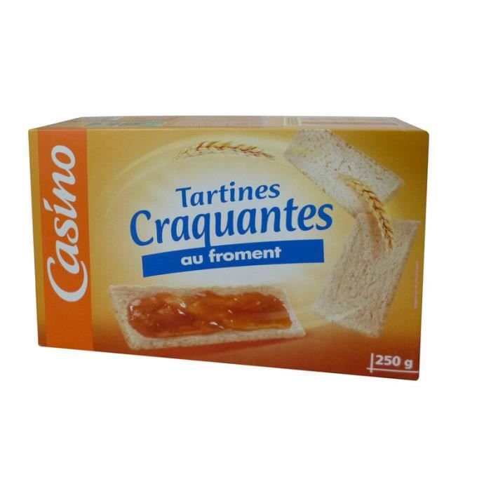 Tartines grillées froment 250 g