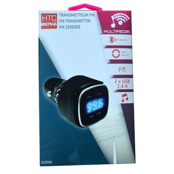 M500 Kit Bluetooth transmetteur FM - 2 USB 2,1 A