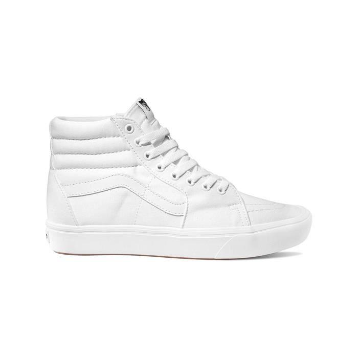 Chaussure Vans ComfyCush SK8-Hi Classic True Blanc-True Blanc