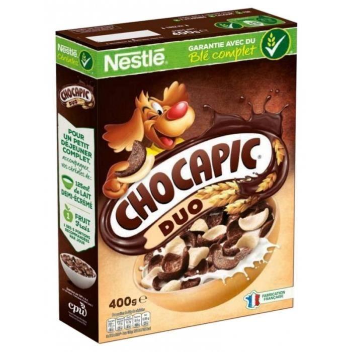 Nestlé Céréales Chocapic Duo (lot de 3)
