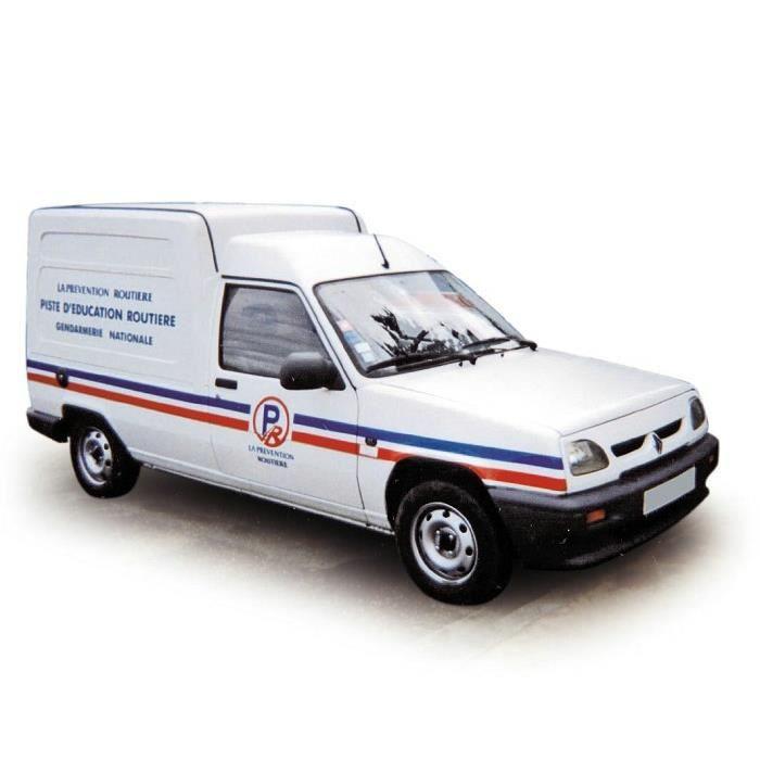 Miniatures montées - Renault Express Gendarmerie - La Prévention Routière 1995 1/43 Norev