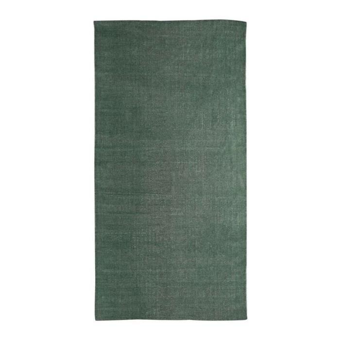 DUNES - Tapis effet délavé vert foncé 60x120