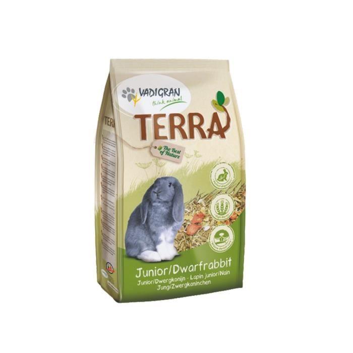 VADIGRAN Nourriture TERRA Junior & Lapin nain 2,25kg
