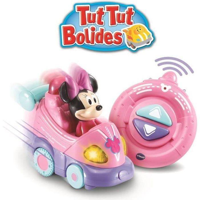 Vtech - Tut Tut Bolides - La magi'voiture télécommandée de Minnie