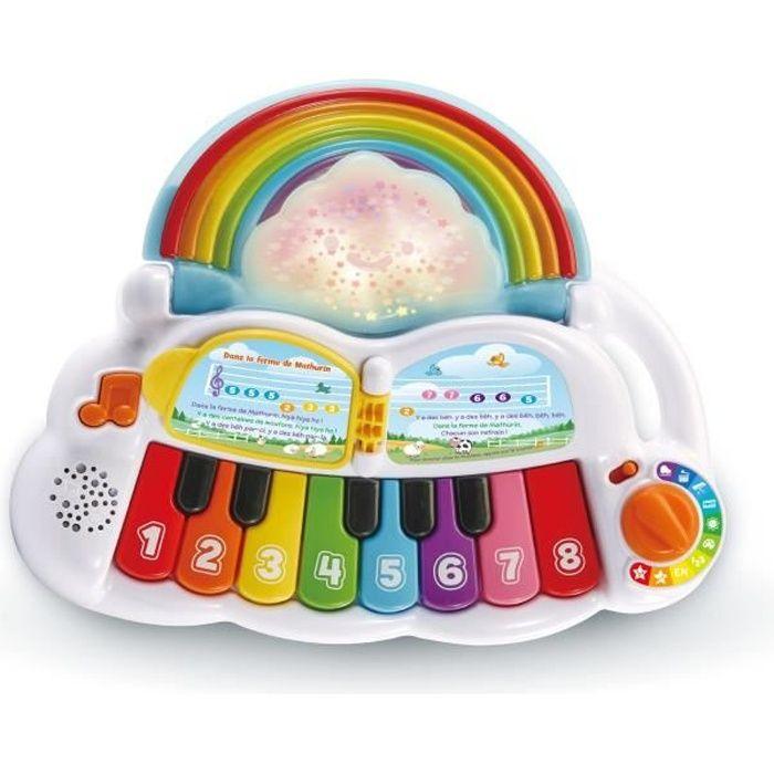Vtech Baby - Piano arc-en-ciel Lumi Magique - 12 - 36 mois