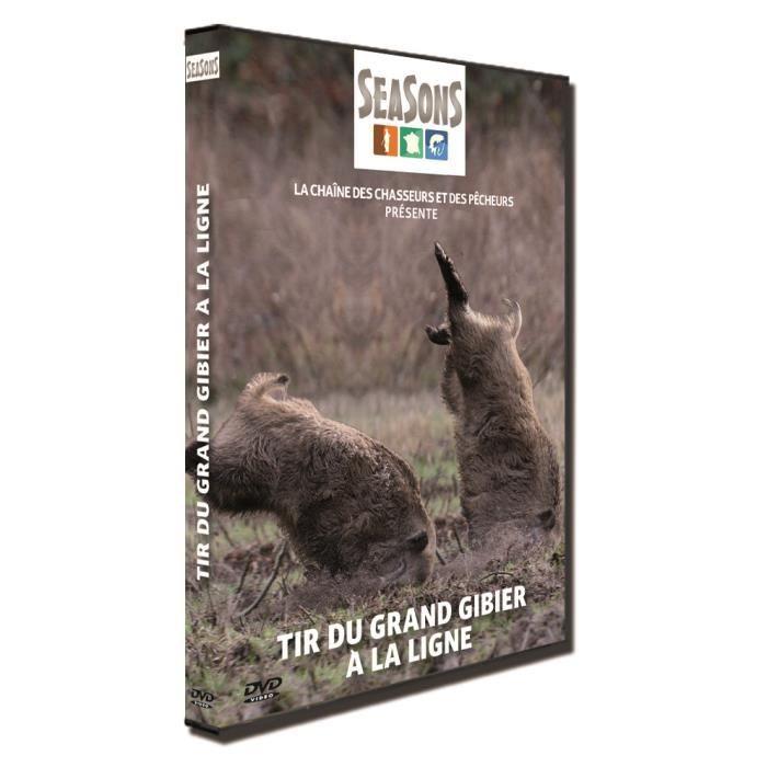 DVD DOCUMENTAIRE DVD Tir du grand gibier à la ligne