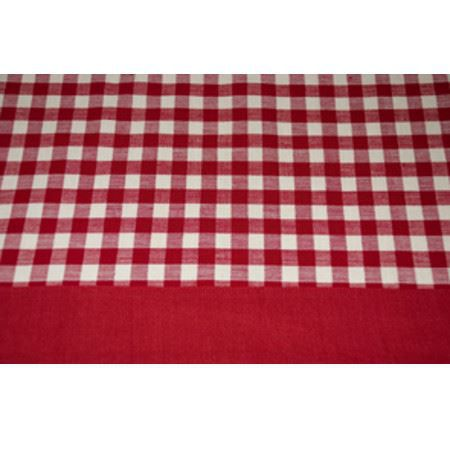 nappe rectangulaire coton vichy rouge 140 x 180 cm achat vente nappe de table cdiscount. Black Bedroom Furniture Sets. Home Design Ideas