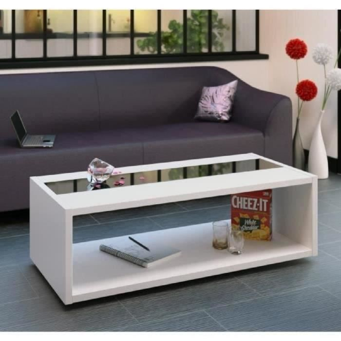 Awesome table basse blanc style marin gallery awesome - Table basse noir et blanc ...