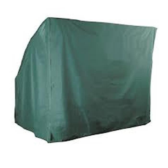Housse pour balancelle de jardin 3 places gamme confort coloris vert