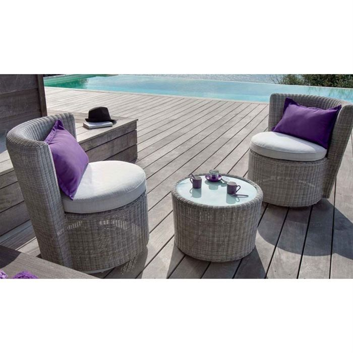 salon detente nassau achat vente salon de jardin salon detente nassau cdiscount. Black Bedroom Furniture Sets. Home Design Ideas
