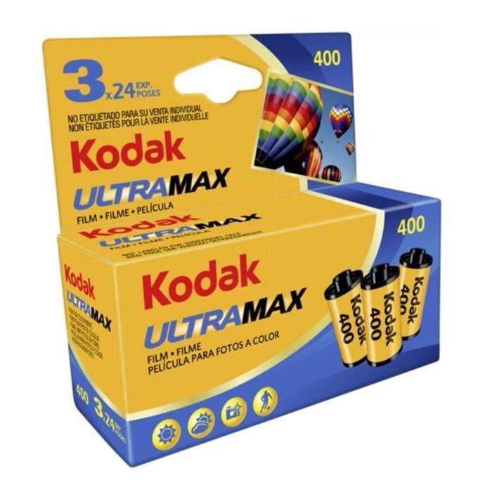PELLICULE PHOTO KODAK 460334052 ULTRAMAX Pellicule 135/3X24 poses