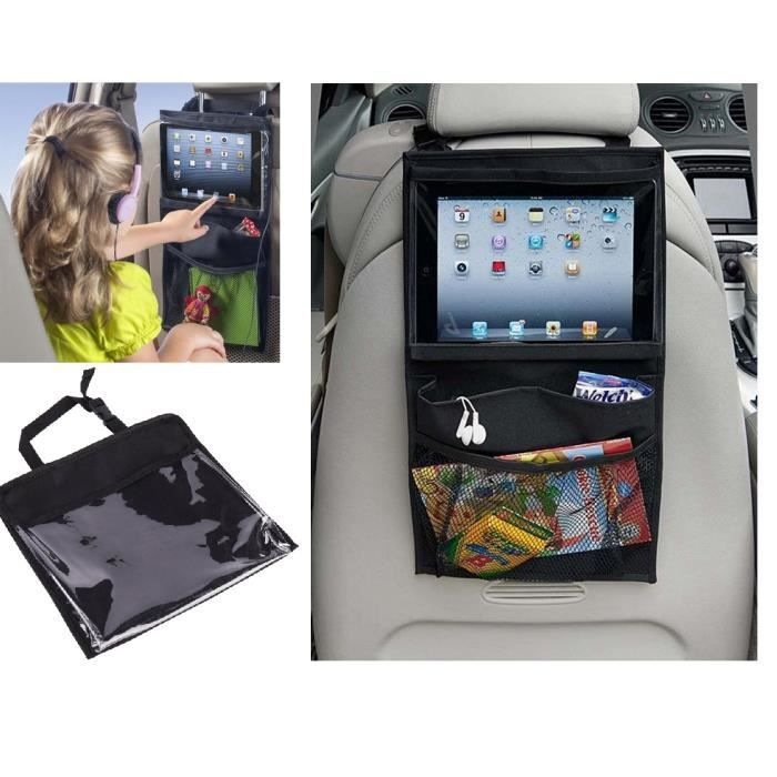 organiseur si ge arri re voiture organisateur sac rangement protection arri re de si ge auto. Black Bedroom Furniture Sets. Home Design Ideas