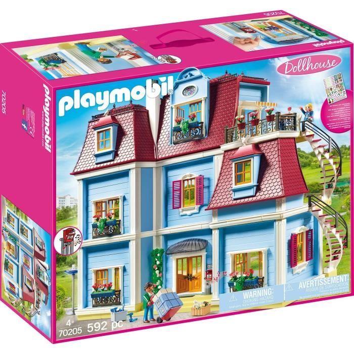 Photo de playmobil-70205-dollhouse-la-maison-traditionnelle-grande-maison