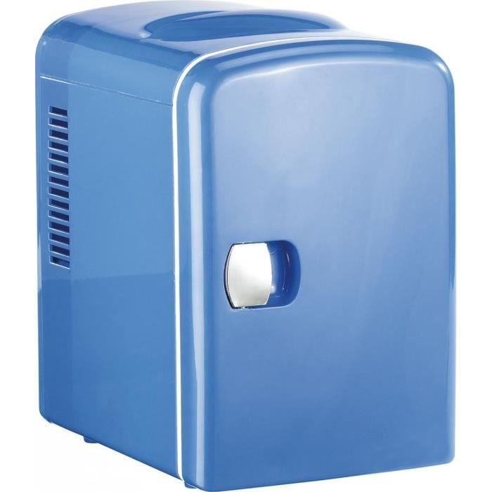 Novhome Mini R/éfrig/érateur 15L Mini Frigo de Chambre AC//DC 12V 75W Congelateur de Voiture Portable R/éfrig/érateur /à Boissons pour Auto Bureau Maison Blanc