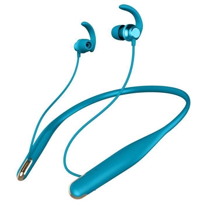 CASQUE - ÉCOUTEURS B-01 Nouveaux ecouteurs accrochants sans fil Bluet