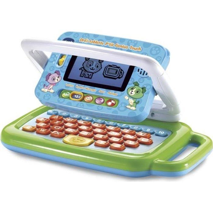 ORDINATEUR ENFANT Vtech - Ordi tablette - P'tit Genius Touch - Vert