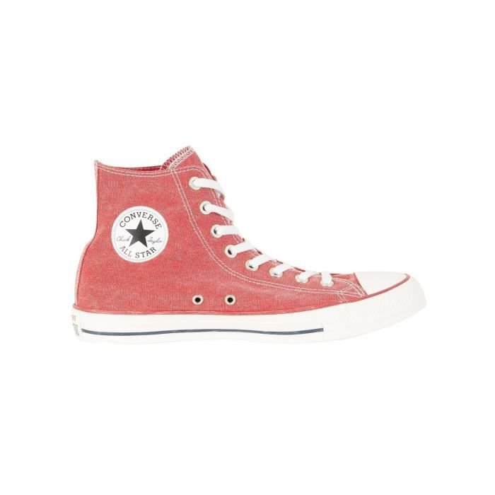 Converse Homme Baskets CT All Star Hi, Rouge