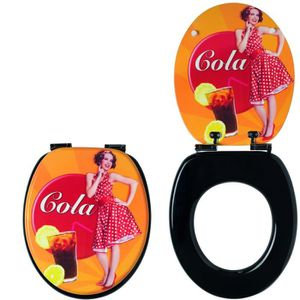 WIRQUIN - Abattant trendy cola soft close