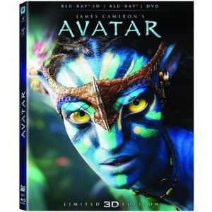 BLU-RAY FILM Blu-Ray 3D+2D+DVD Avatar