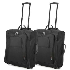 SET DE SACS DE VOYAGE Lot de 2 Easyjet et British Airways 56x45x25cm Bag