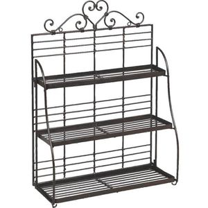 etagere murale metal achat vente etagere murale metal pas cher cdiscount. Black Bedroom Furniture Sets. Home Design Ideas