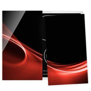 PLAQUE INDUCTION Couvre plaque de cuisson - Red Wave - 52x60cm, pro