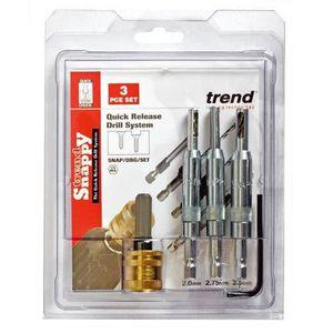 Trend Snappy SNAP//TH2//SET outil porte-forets bois métal ensemble 60 pièces