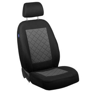 Noire Sitzbezüge pour NISSAN X TRAIL Siège-auto Référence à L/'AvAnt uniquement siège du conducteur