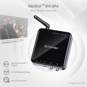 Récepteur audio BlitzWolf 2 en 1 Bluetooth V5.0 Émetteur Récepteur