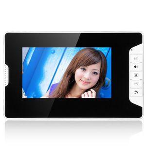 INTERPHONE - VISIOPHONE Portier Interphone Visiophone Caméra IR Filaire 2