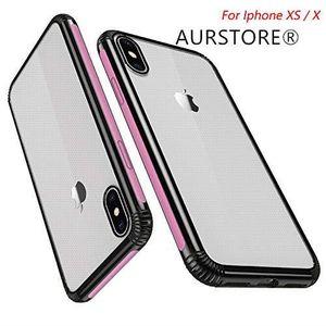 COQUE - BUMPER AURSTORE Coque Iphone IPHONE X/XS,Coque Transparen