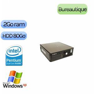 UNITÉ CENTRALE  Dell Optiplex 755 - Windows XP - DC 2GB 80GB - Ord